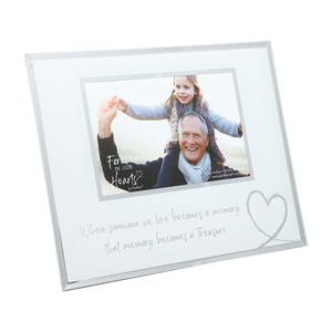 "Treasured Memory by Forever in our Hearts - 9.25"" x 7.25"" Frame (Holds 6"" x 4"" Photo)"