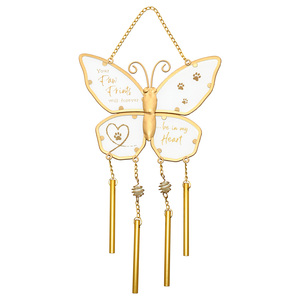 "Paw Prints by Forever in our Hearts - 11.5"" Wind Chime"