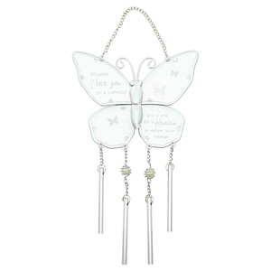 "Whispers by Forever in our Hearts - 11.5"" Wind Chime"