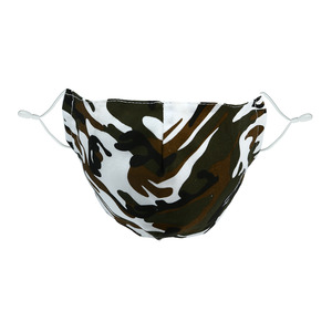 Green Camouflage by Pavilion Cares - Adult Reusable Fabric Mask & PM 2.5 Filter Set