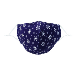 Snowflakes by Pavilion Cares - Adult Reusable Fabric Mask