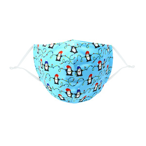 Penguins & Lights by Pavilion Cares - Adult Reusable Fabric Mask