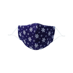 Snowflakes by Pavilion Cares - Kid's Reusable Fabric Mask