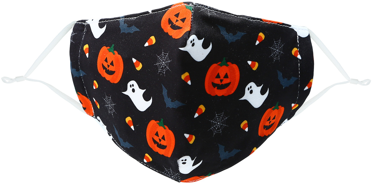 Halloween by Pavilion Cares - Halloween - Kid's Reusable Fabric Mask