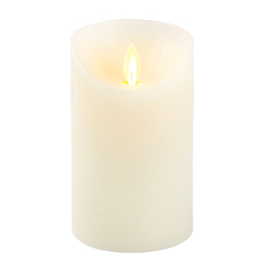 "Natural Candle by Pavilion Accessories - 5"" Realistic Flame LED Lit Candle"