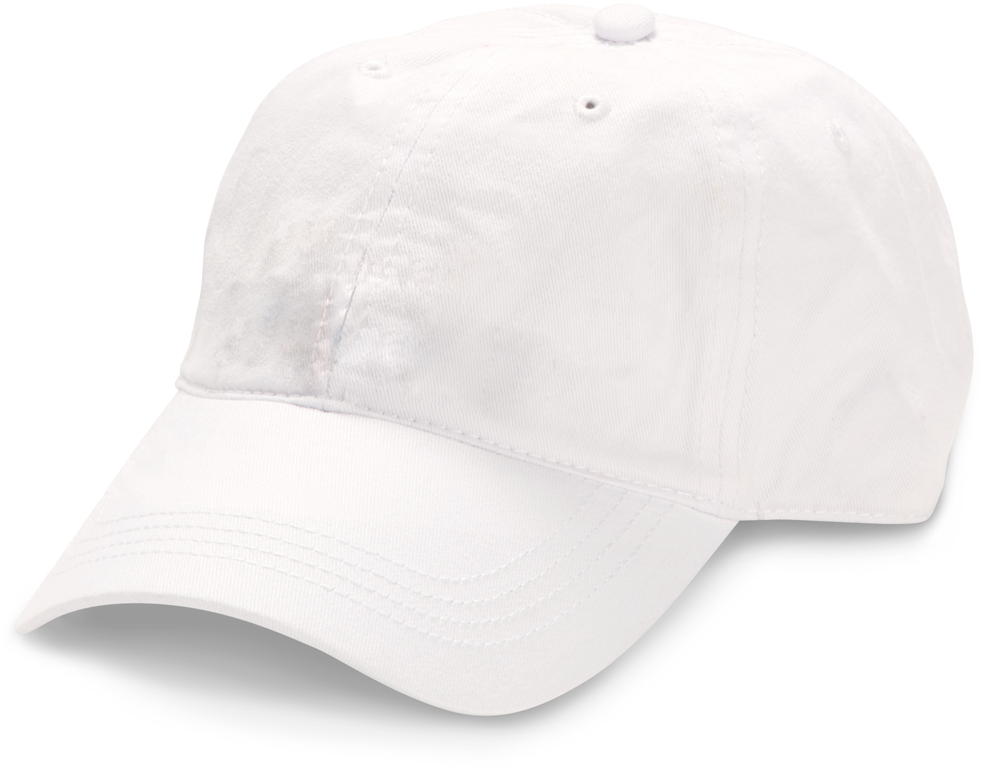 Blank by Pavilion Accessories - Blank - White Adjustable Hat