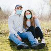 Disposable 3-Layer Face Mask by Pavilion Cares - Scene3