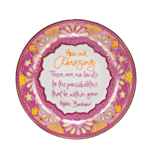 "You Are Amazing by Intrinsic - 4.25"" Trinket Dish"