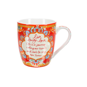 Live Laugh Love by Intrinsic - 12 oz Cup with Gift Box