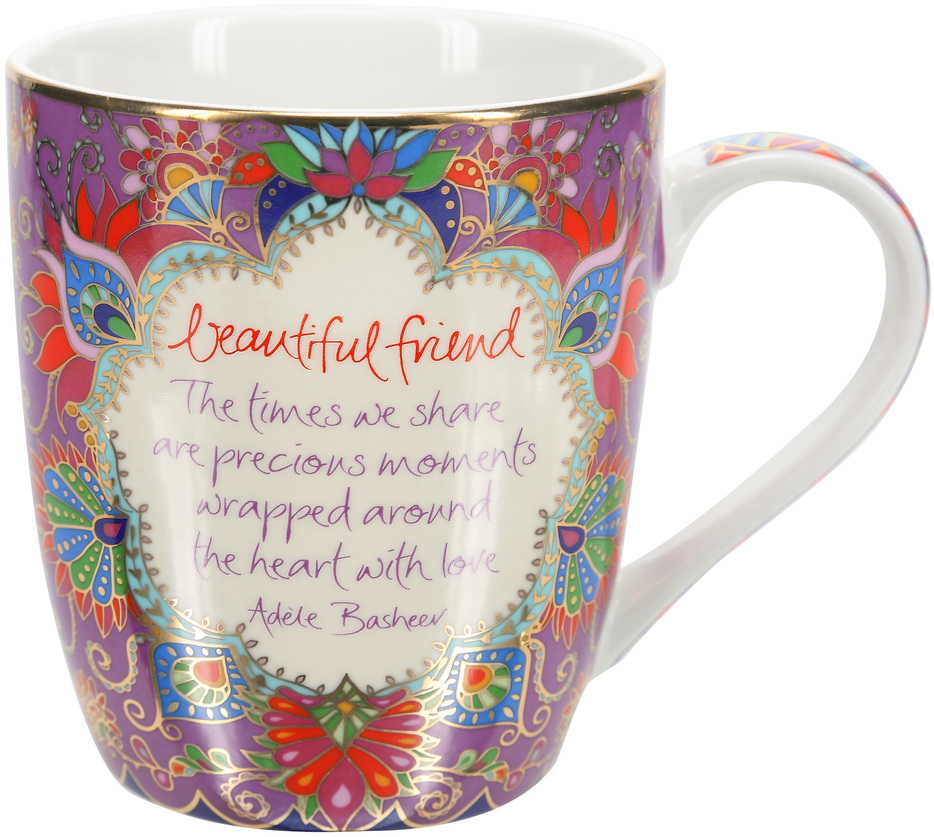 Beautiful Friend by Intrinsic - Beautiful Friend - 12 oz Cup with Gift Box