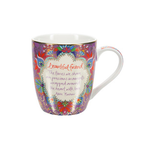 Beautiful Friend by Intrinsic - 12 oz Cup with Gift Box