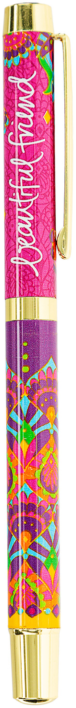 Beautiful Friend by Intrinsic - Beautiful Friend - Boxed Gift Pen with Indigo (Purple) Ink