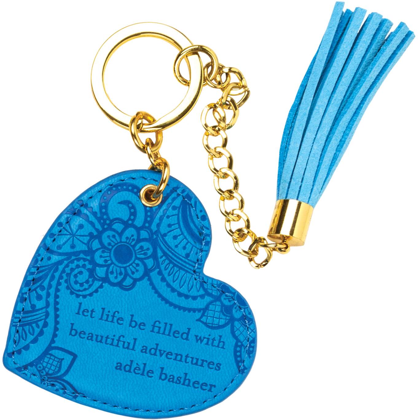 Amalfi Blue by Intrinsic - Amalfi Blue - Vegan Leather Keychain