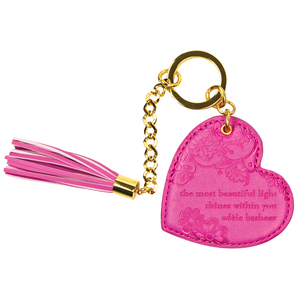 Miami Pink by Intrinsic - Vegan Leather Keychain