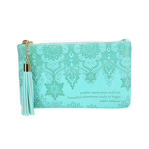 Tahitian Turquoise by Intrinsic - Gift Boxed Vegan Leather Coin Purse