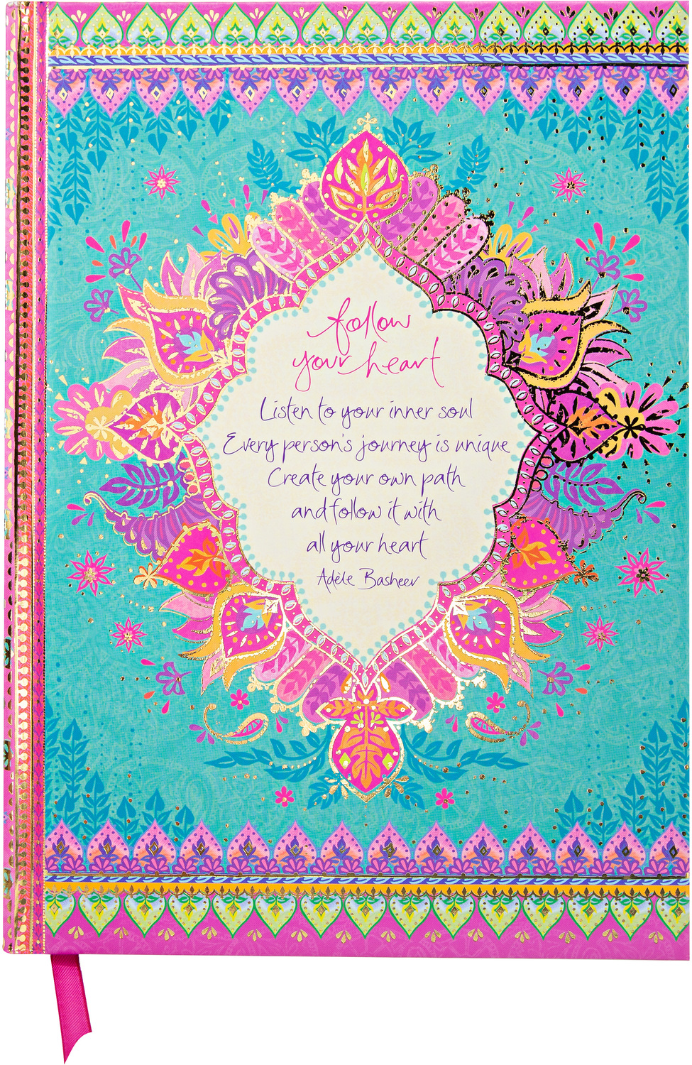 "Follow Your Heart by Intrinsic - Follow Your Heart - 8.5"" x 6.25"" Journal"