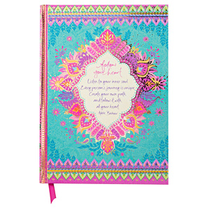 "Follow Your Heart by Intrinsic - 8.5"" x 6.25"" Journal"