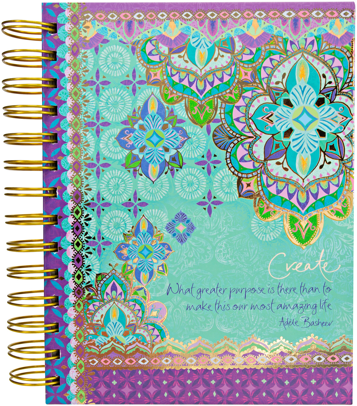 "Create by Intrinsic - Create - 7.5"" x 6.5"" Spiral Notebook"