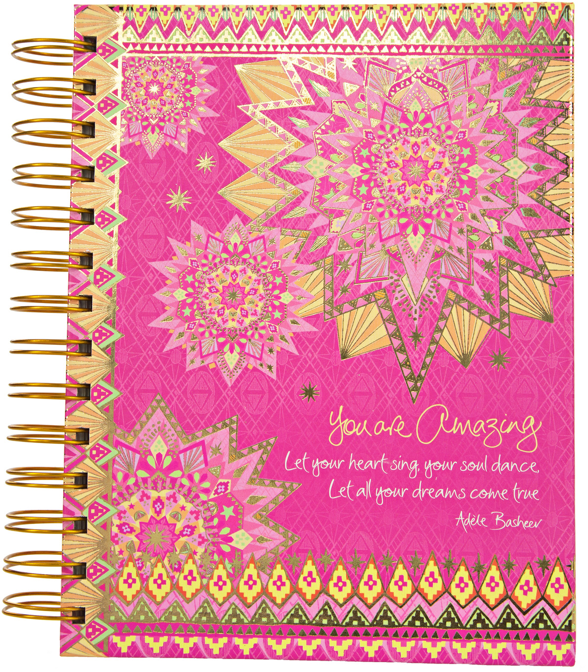 "You Are Amazing by Intrinsic - You Are Amazing - 7.5"" x 6.5"" Spiral Notebook"
