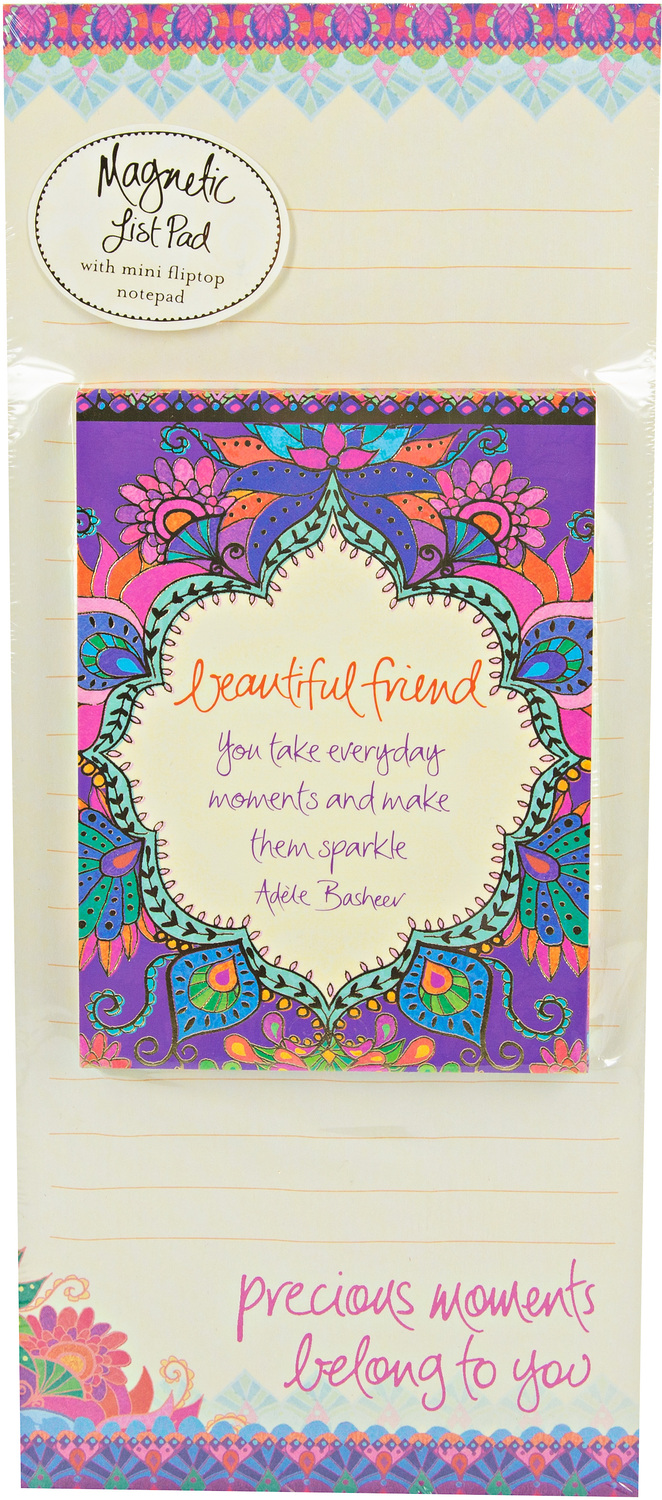 Beautiful Friend by Intrinsic - Beautiful Friend - Magnetic List Pad Set