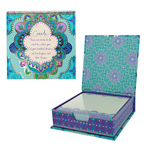"Create by Intrinsic - 5.25"" x 5.25"" x 1.75"" Note Box"