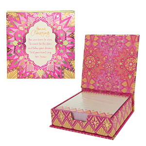 "You Are Amazing by Intrinsic - 5.25"" x 5.25"" x 1.75"" Note Box"